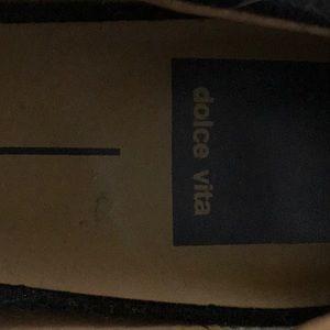 Dolce Vita Shoes - Black flannel shoes